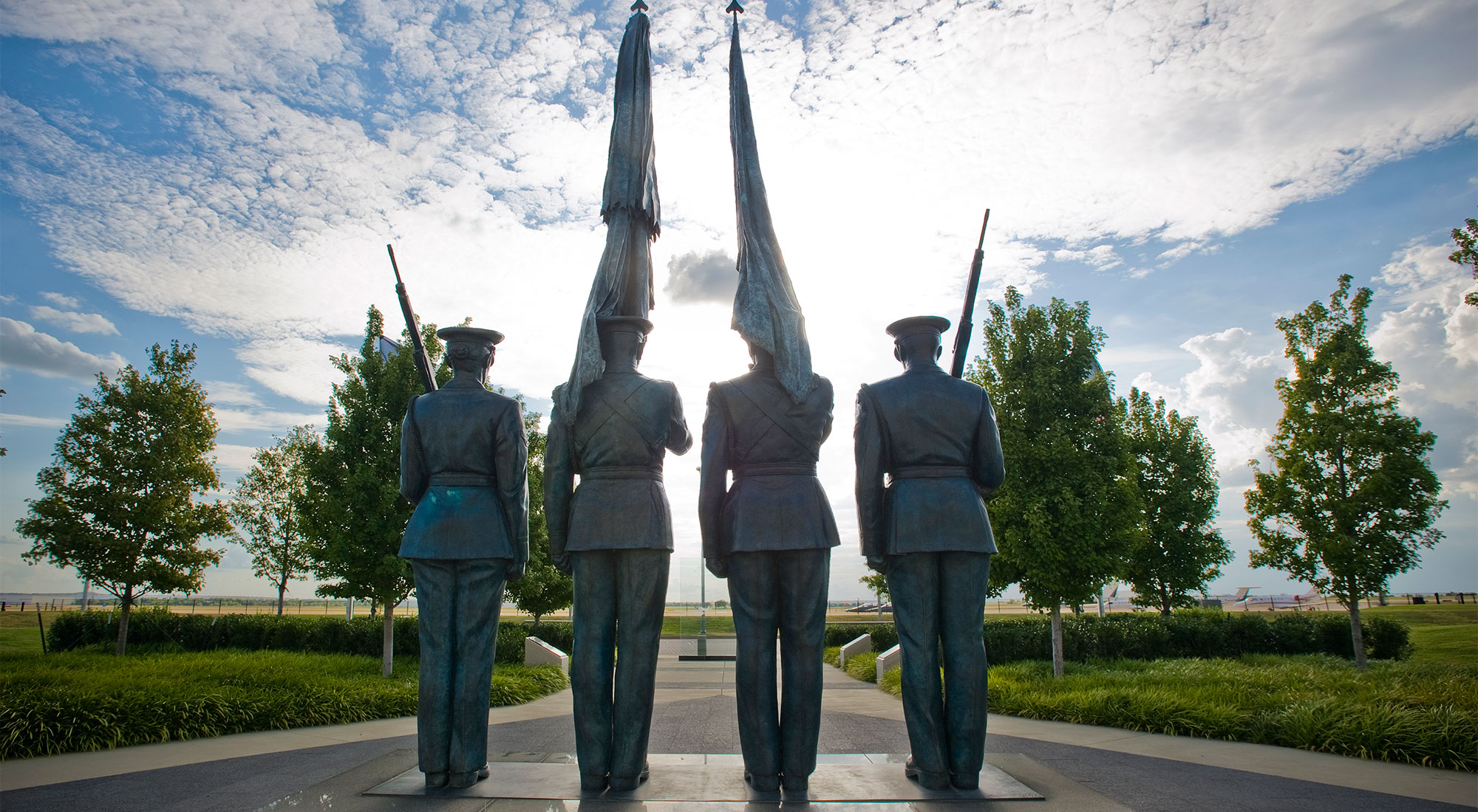 Honor Guard Memorial Statue